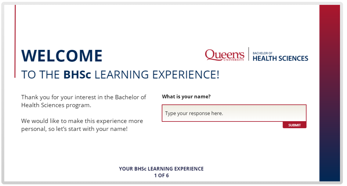 Explore the Bachelor of Health Sciences Learning Experience