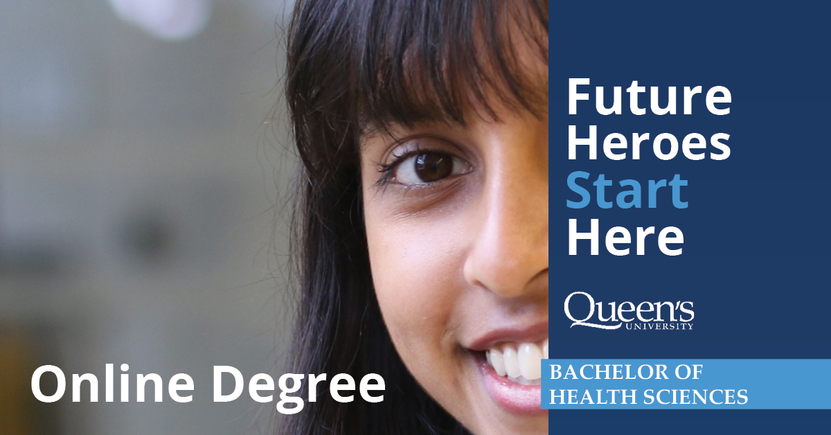 Future Heroes Start Here - Bachelor of Health Sciences Online Degree